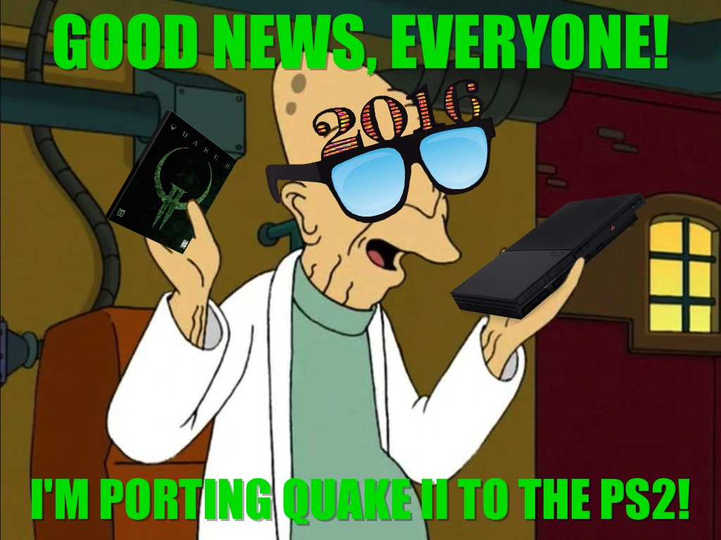 Good news, everyone!